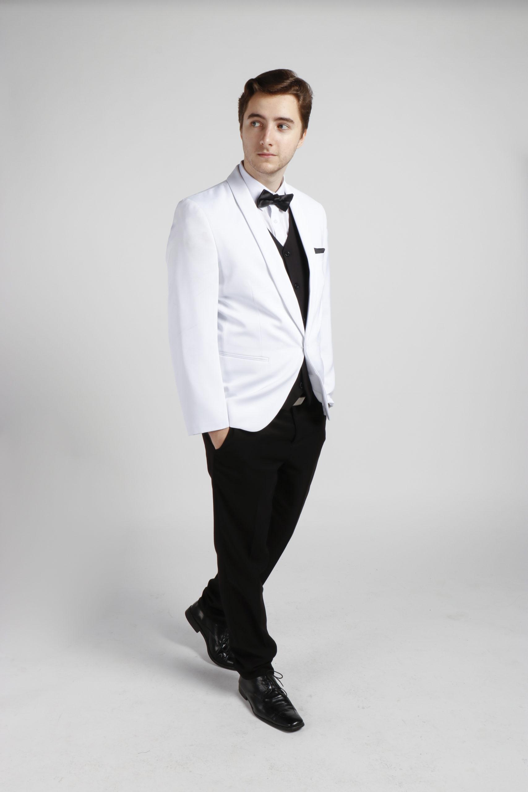 White Tuxedo Hire