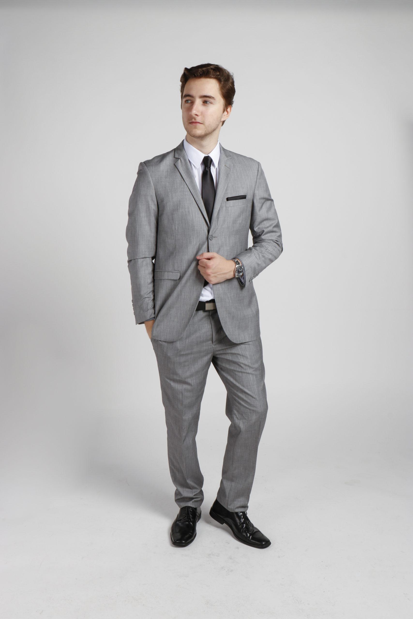 Light Grey Suit Hire