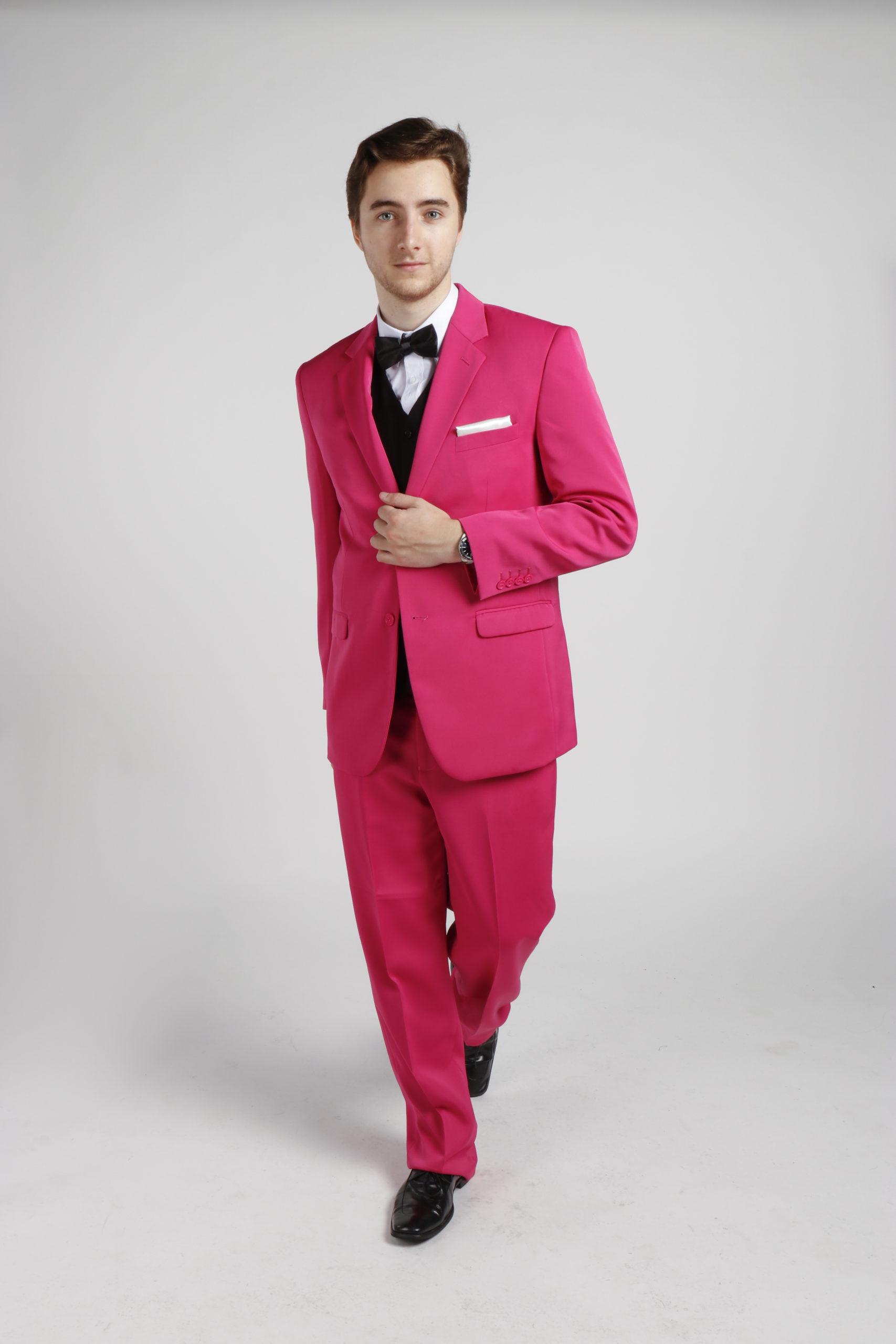 Pink Suit Hire