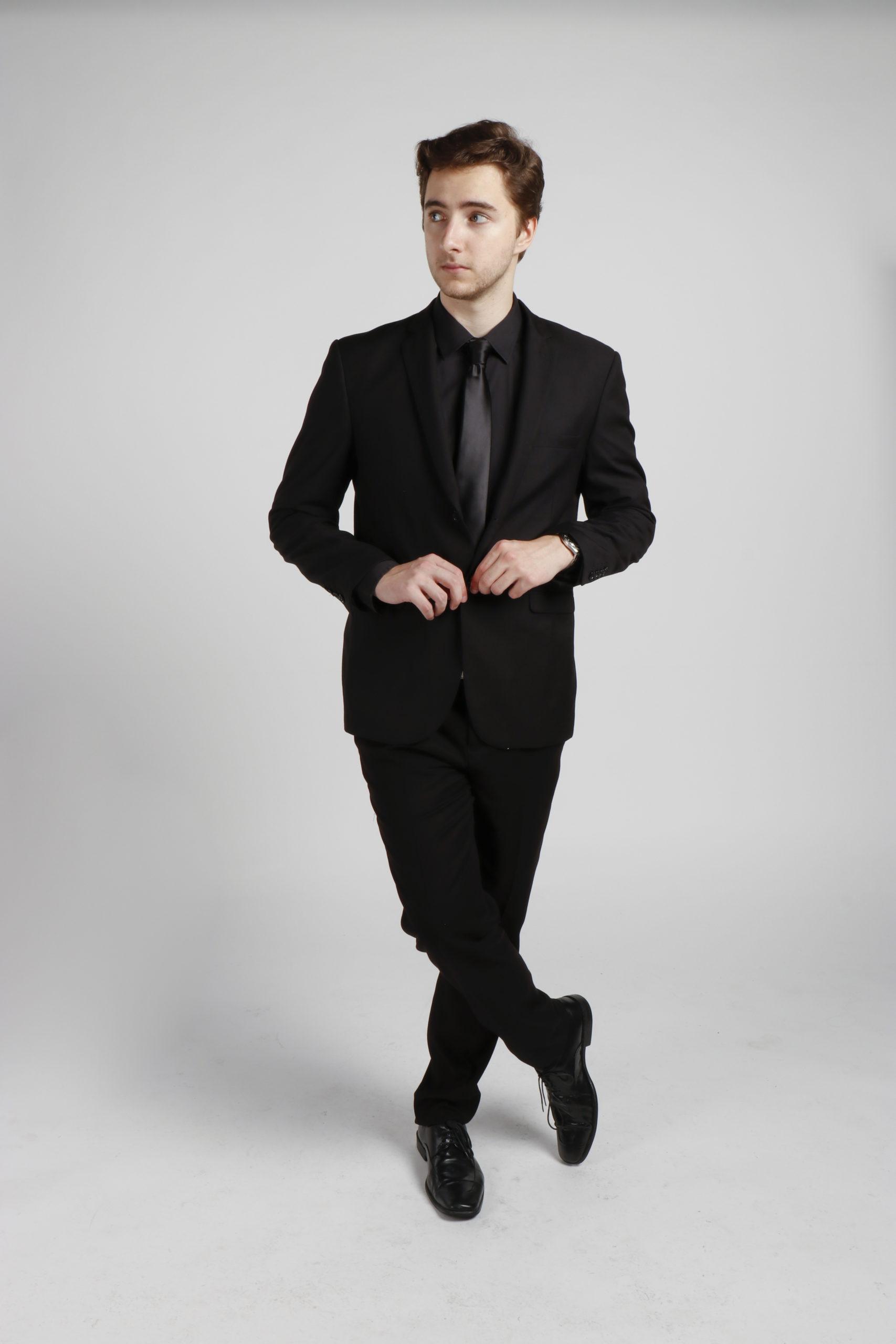 All Black Suit Hire