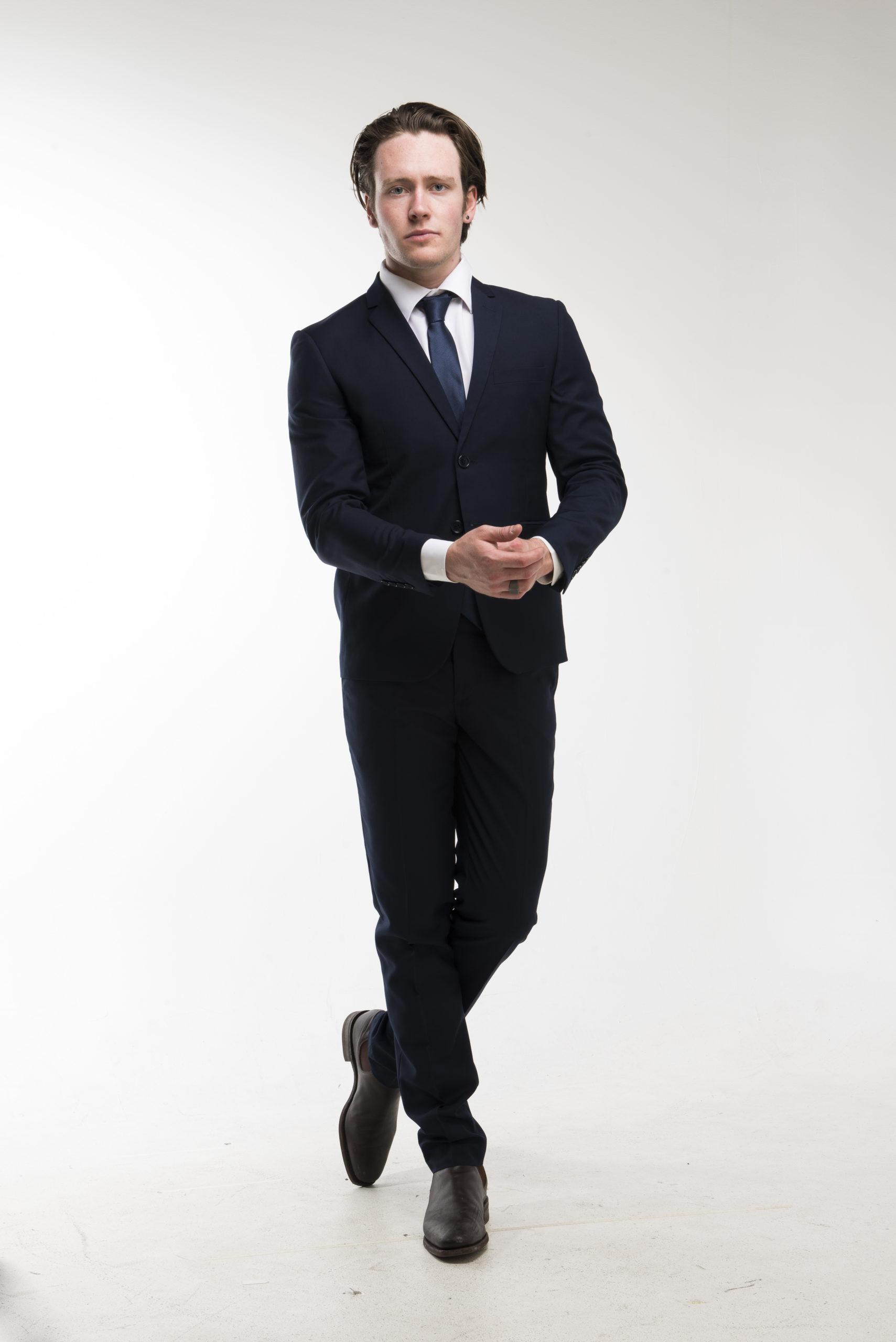 Navy Blue Suit Hire